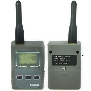 Portable Frequency Counter - RF Signal Strength Indicating